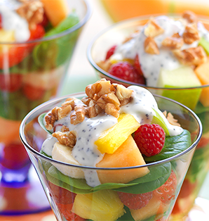 Fruit Salad Parfait