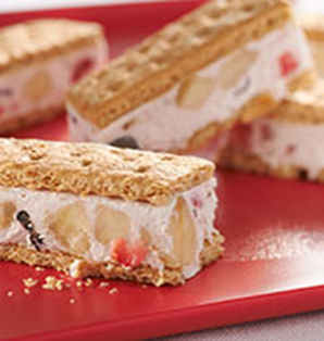 Honey Maid Banana-Berry Frozen Yogurt Bars