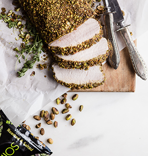 Pistachio Crusted Pork Tenderloin