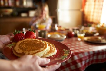 Have a Flapjacks and Flannels Party! image